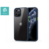 Devia Apple iPhone 12/12 Pro ütésálló hátlap - Devia Shark Series Shockproof Case - blue/transparent