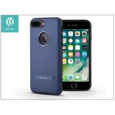 Devia Apple iPhone 7 Plus hátlap - Devia iView Magnetic - blue tok és táska
