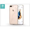 Devia Apple iPhone 7 Plus hátlap Swarovski kristály díszitéssel - Devia Crystal Papillon - champagne gold