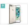 Devia Apple iPhone 7 Plus szilikon hátlap - Devia Glitter Soft - rose silver