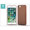 Devia Apple iPhone 7 szilikon hátlap - Devia Jelly Slim Leather 2 - brown