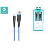 Devia Apple iPhone Lightning USB töltő- és adatkábel 1,5 m-es vezetékkel - Devia Fish1 Flexible Lightning USB 2.4 - blue