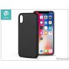 Devia Apple iPhone X hátlap - Devia Ceo 2 - black