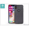 Devia Apple iPhone X hátlap - Devia Linger - black