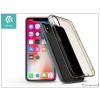 Devia Apple iPhone X szilikon hátlap - Devia Anti-Shock - clear tea