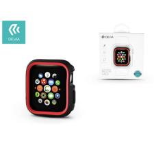 Devia Apple Watch 4 védőtok - Devia Dazzle Series 40 mm - fekete/piros tok és táska