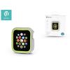 Devia Apple Watch 4 védőtok - Devia Dazzle Series 44 mm - ezüst/neon zöld