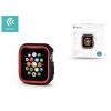 Devia Apple Watch 4 védőtok - Devia Dazzle Series 44 mm - fekete/piros