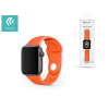 Devia Apple Watch lyukacsos sport szíj - Devia Deluxe Series Sport Band - 38/40 mm - orange