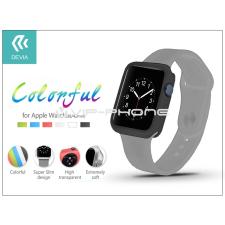 Devia Apple Watch védőtok - Devia Colorful 38 mm - black tok és táska