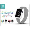 Devia Apple Watch védőtok - Devia Colorful 38 mm - white