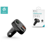 Devia Devia Bluetooth FM-transmitter/szivargyújtó töltő - 2xUSB + MP3/WMA/WAV/Flac + Pendrive/TF-kártyaolvasó - Devia Smart Series - black