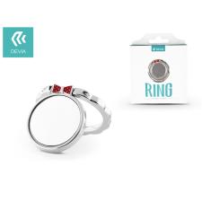Devia Devia ring holder/szelfi gyűrű és kitámasztó - Devia Finger Hold Butterfly - silver mobiltelefon kellék