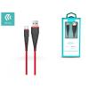 Devia Devia USB töltő- és adatkábel 1,5 m-es vezetékkel - Devia Fish1 Flexible Type-C USB 2.4 - red