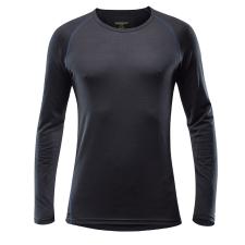 Devold Breeze Man Shirt L / fekete férfi póló