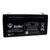 DIAMEC zselés akkumulátor 6V 3,3Ah DM6-3.3