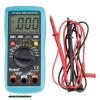 digitális multiméter; Amper/Volt/Ohm mérő, hangjelző funkcióval, CE, 3 db 1,5V AAA elem