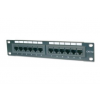 "Digitus 10"" CAT5e 12-portos UTP patch panel"