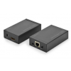 Digitus Extender HDMI up to 120m over Cat.5e UTP or IP; 1920x1080p FHD 3D; with IR (SET)