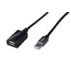 Digitus USB 2.0 repeater kábel  10 m