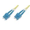 Digitus üvegszálas optikai patch kábel , duplex SM 9/125 SC / SC 2m