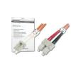 Digitus üvegszálas optikai patch kábel   LC / SC 2m