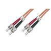 Digitus üvegszálas optikai patch kábel ; ST-ST 1m