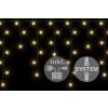 diLED fényeső - 180 LED meleg fehér + bekötés