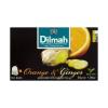 Dilmah narancs-gyömbér feketetea (20 db filter)