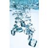 Dimex ICE CUBES fotótapéta, poszter, vlies alapanyag, 150x250 cm