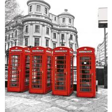 Dimex LONDON fotótapéta, poszter, vlies alapanyag, 225x250 cm tapéta, díszléc és más dekoráció