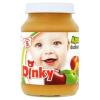 Dinky glutén- és tejszármazékmentes alma őszibarackkal bébidesszert 5 hónapos kortól 190 g