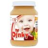 Dinky glutén- és tejszármazékmentes banán-alma-őszibarack bébidesszert 7 hónapos kortól 190 g