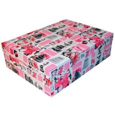 Díszdobozok kövek-pink (T5)