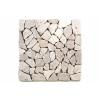 Divero Márvány mozaik Garth - fehér, 1 m2
