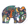 DJECO Elefánt - művészi karakó játék