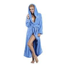 DKaren Diana hosszú bolyhos fürdőköpeny, kék S