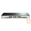 DLINK D-Link 28-Port Gigabit Stack PoE SmartPro Switch 2x SFP and 2x 10G SFP+ ports