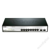 DLINK D-Link Switch 8x1000Mbps + 2 SFP fanless