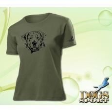 Dogs & Sport Golden retriever női póló (Női rövid ujjú póló )