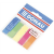 DONAU 12x45 mm műanyag neon színű jelölőcímke (5x25 lap)