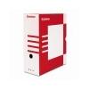DONAU Archiváló doboz, A4, 120 mm, karton, DONAU, piros