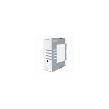 DONAU Archiváló doboz, A4, 120 mm, karton, DONAU, szürke irattartó
