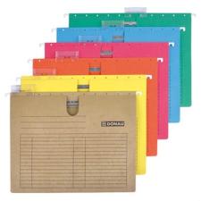 DONAU Függőmappa, gyorsfűzős, karton, A4, DONAU, barna mappa