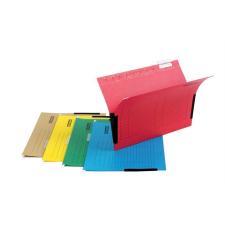 DONAU Függőmappa, oldalvédelemmel, karton, A4, DONAU, piros mappa