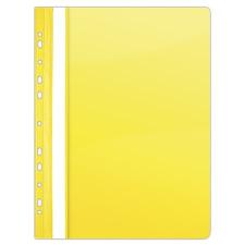 DONAU Gyorsfűző, lefűzhető, PVC, A4, DONAU, citromsárga mappa