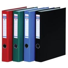 DONAU Gyűrűs dosszié, 2 gyűrű, D alakú, 45 mm, A4, PP/karton, DONAU, zöld gyűrűskönyv