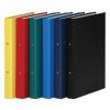 DONAU Gyűrűs könyv, 2 gyűrű, 35 mm, A4, PP/karton, , sötétkék