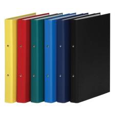 DONAU Gyűrűs könyv, 2 gyűrű, 35 mm, A4, PP/karton, , sötétkék gyűrűskönyv