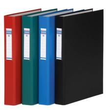 DONAU Gyűrűs könyv, 2 gyűrű, 40 mm, A4, PP/karton, , kék gyűrűskönyv